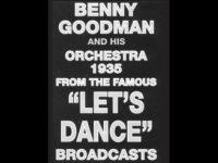 "Benny Goodman ""Lets Dance"" Poster"