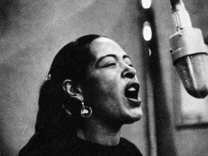 Billie Holiday swing photo