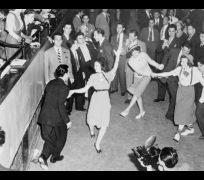 Jitterbug dancing