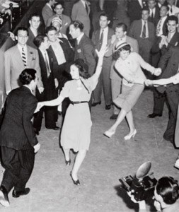 swing era dancing photo